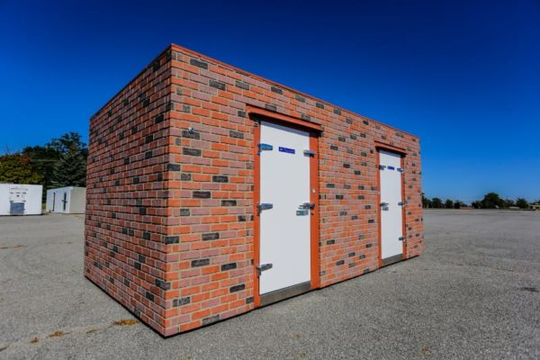 Outside view of a brick lined Polar King unit