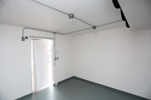 Inside of Polar King commercial refrigeration unit